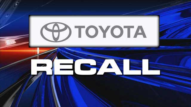 Toyota Recalls Power Window Switches for 6.5 Million Vehicles Worldwide