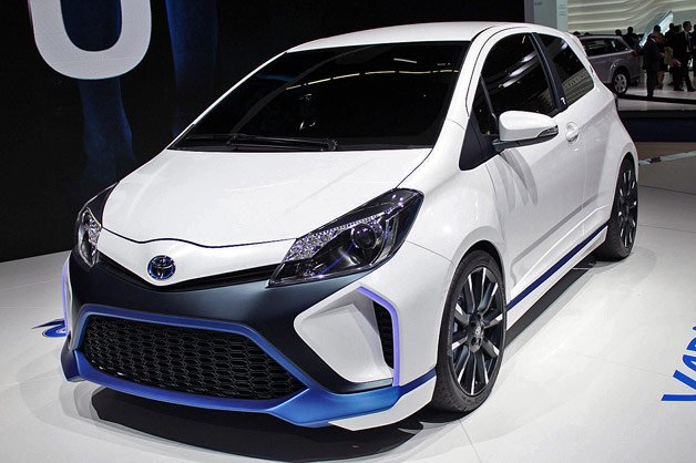 toyota yaris hybrid r is road going version of brand 39 s racing technology localized. Black Bedroom Furniture Sets. Home Design Ideas