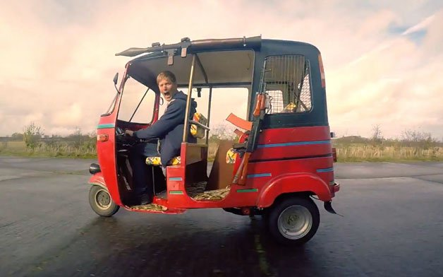 Englishman Builds Amazing Weaponized 100-hp Tuk Tuk from Far Cry 4