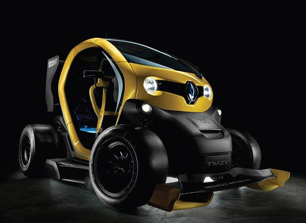 Twizy Renault Sport F1 is a Racy EV that Defies Categorization