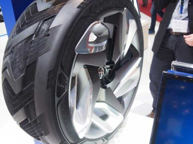 Goodyear Has Built a Tire That Will Recharge Your Car On the Move