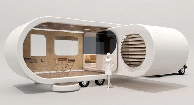 Innovative Trailer Concept Inspired by USB Drive
