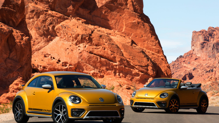 Volkswagen Beetle Dune is Ready for the Desert