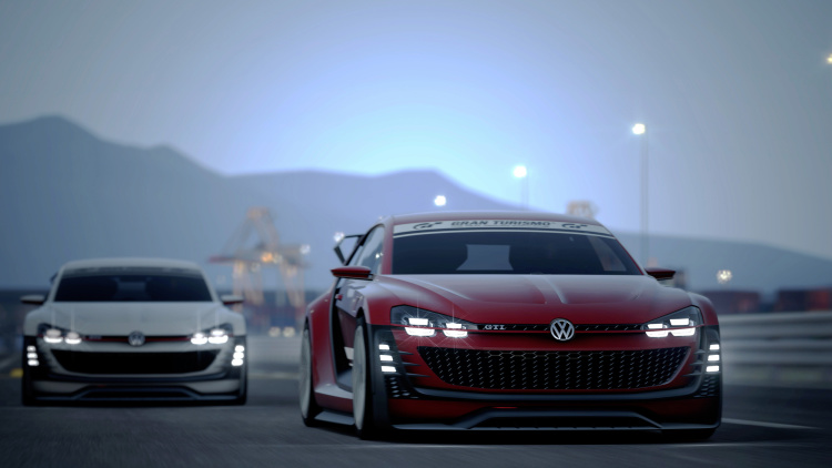 Volkswagen Hits Gran Turismo with GTI Supersport Concept