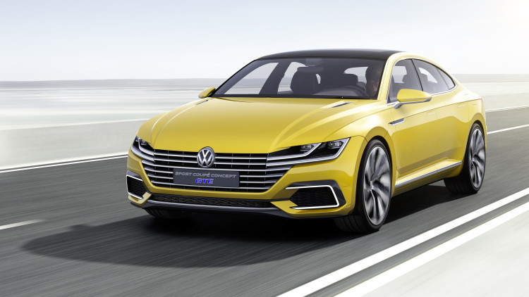 VW Sport Coupe Concept GTE 'Marks Beginning of a New Design Era'