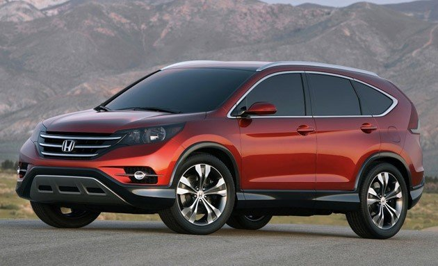 2012 Honda CR-V previewed with new concept?