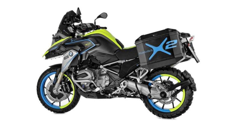 Wunderlich Creates Two-Wheel-Drive Hybrid BMW Motorcycle