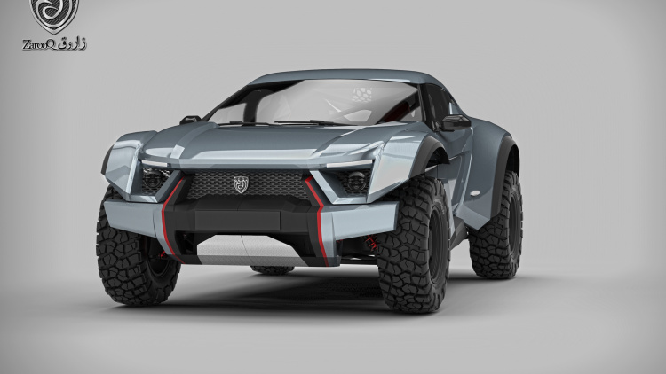 Zarooq SandRacer Set to Tackle the Dunes in Dubai