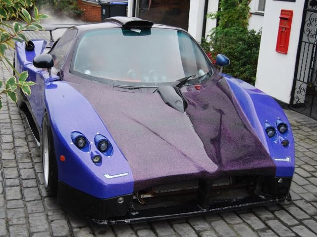 This Pagani Zonda Is a Replica Powered By An Audi V8 and Built From Scrap