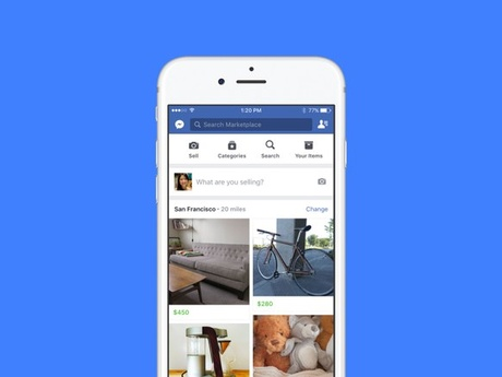 Facebook Marketplace Wants to Be Your New Craigslist