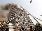 30 Firefighters Feared Dead in Tehran High-Rise Collapse