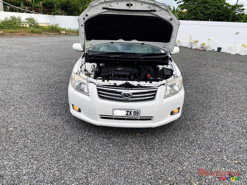 2009 Toyota Corolla Axio Manual 1.5L JAPAN in Roches Noires - Riv du Rempart, Mauritius - 7
