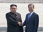 Korean leaders aim for end of war, 'complete denuclearization' after historic summit