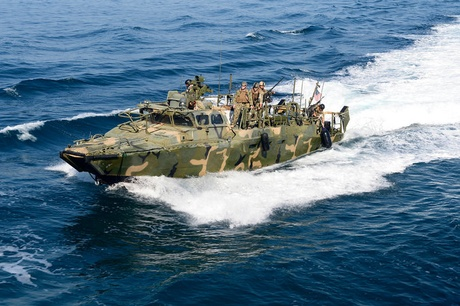 A boat similar to the one Iran seized in the Persian Gulf on Tuesday
