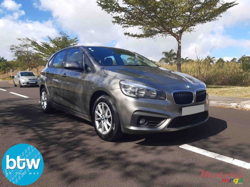 2015 BMW 2 Series 218i Grand Tourer (F46) in Moka, Mauritius