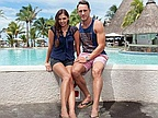 Faf du Plessis, South African Cricket Star, Honeymoon at LUX * Belle Mare