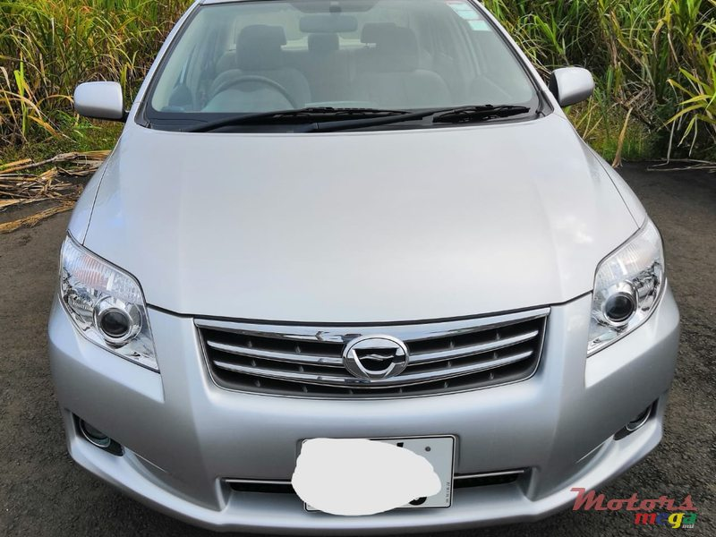 2012 Toyota Axio Limited Edition in Rose Belle, Mauritius