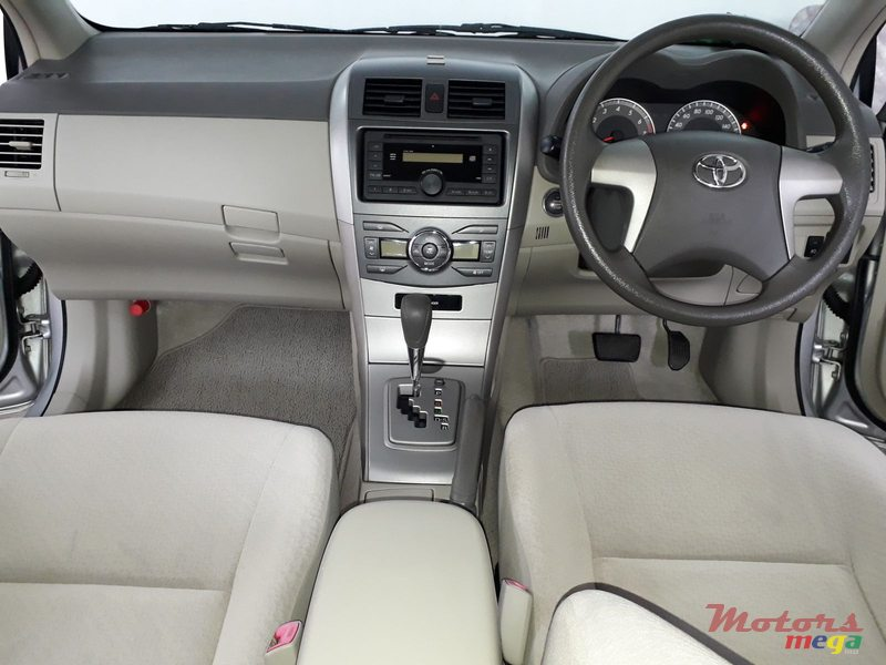 2012 Toyota Axio Limited Edition in Rose Belle, Mauritius - 3