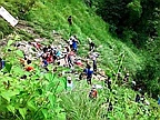 At least 33 killed as crowded bus veers off Nepal mountain highway