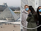 Coronavirus: Staff force Louvre closure over infection fears