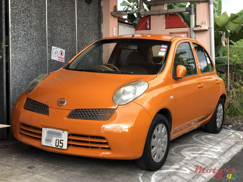 2005 Nissan March in Rose Belle, Mauritius