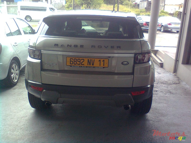 2011 Rover Range Rover Evoue in Curepipe, Mauritius