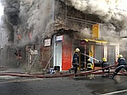 Port Louis: Violent Fire Destroyed Two Buildings in the Rue Royale