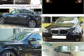 2008' BMW 5 Series Rs 1.1M on Road
