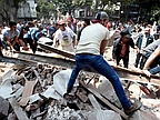 Central Mexico earthquake kills more than 140, topples buildings
