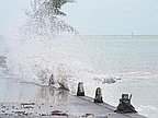Cyclone Amara Blackout and Flood Rodrigues