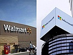 Walmart and Microsoft team up to fight Amazon