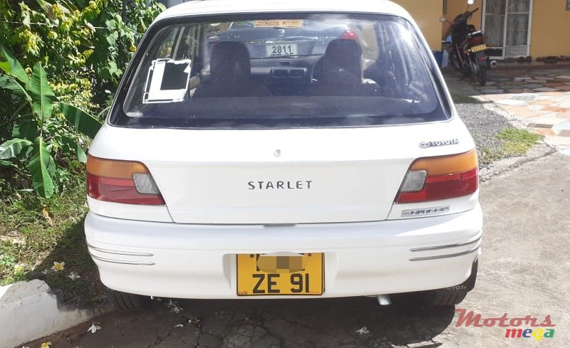 1991 Toyota Starlet in Terre Rouge, Mauritius - 4