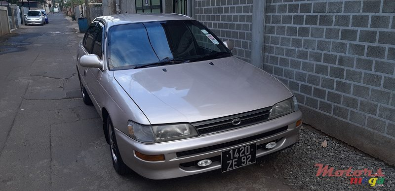 1992' Toyota Corolla for sale - 95,000 Rs  Port Louis, Mauritius