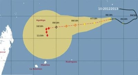 Weather Map Mauritius Weather: Mauritius, Reunion and Rodrigues Under the Threat of the