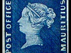 18 Mauritius Blue stamps is shown in Berlin