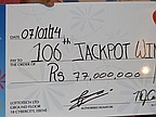 Lotto: Retired Get the Record Jackpot of Rs 77 Million