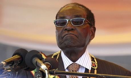 Zimbabwe's president Robert Mugabe, who at 91 is Africa's oldest leader.