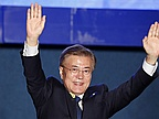 South Korea's new leader willing to visit the North