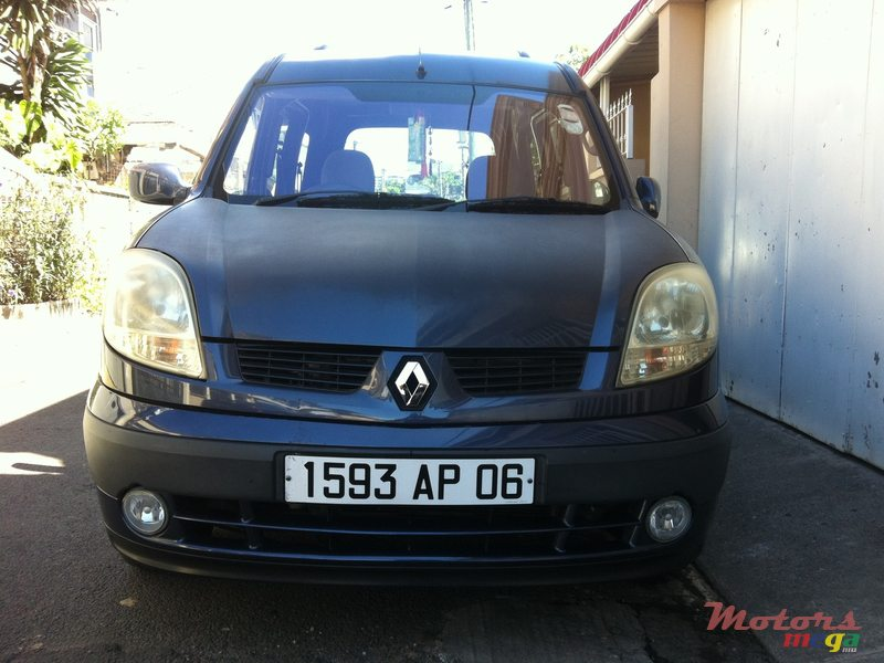2006 Renault Kangoo No For Sale 220000 Rs Curepipe Mauritius
