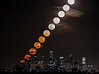 Picture of the Day: Moonrise Time-Lapse Over LA