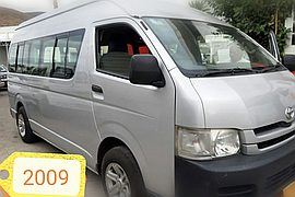 2009' Toyota Hiace High roof 16 seater