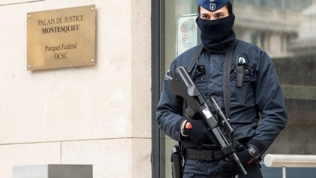 Belgian police are on high alert following Thursday's raids