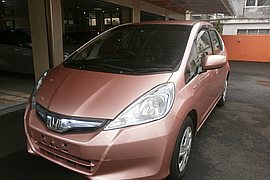 2013' Honda Fit Aria