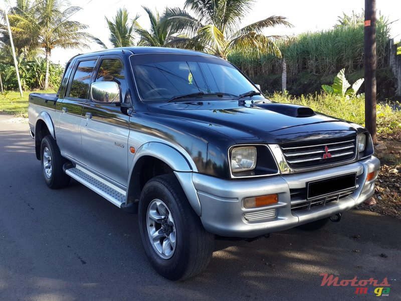 1998 Mitsubishi L200 4x4 For Sale 180 000 Rs Rose Belle Mauritius