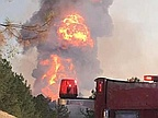 7 hurt as pipeline explosion lights up the sky in Alabama, US