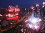 Singapore Turns 50, and Celebrates with Fanfare