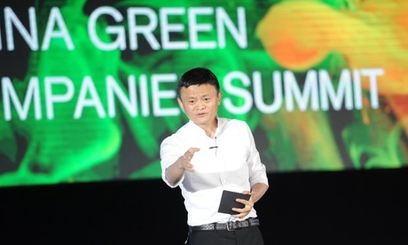 Jack Ma issued the warning to encourage businesses to adapt or face problems in the future