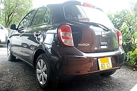2012' Nissan March AK 13 Automatic