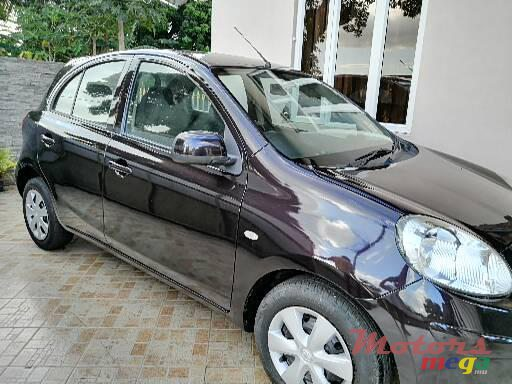 2012 Nissan March in Mapou, Mauritius