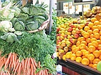 Soon on the Stalls: fruit and Winter Vegetables